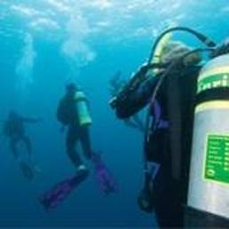 Divers breathing Enriched Air Nitrox - Picture property of PADI - Snippy's Snaps Diving - Dive Snippy
