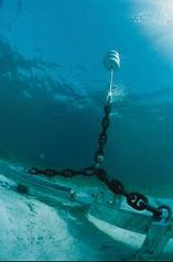 Picture via marinefabricatormag.ocm - used on SnippysSnapsDiving to show example of mooring system